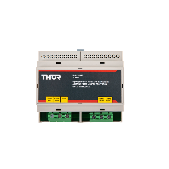 Drm95 30a High Capacity Ac Mains Filtered Protection Thor Technologies